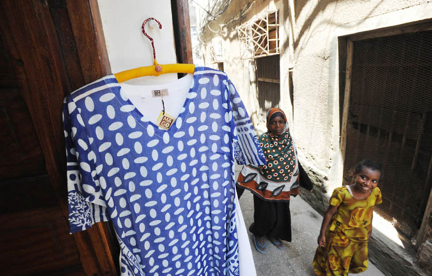 voyage à Zanzibar. Mode à Stone Town