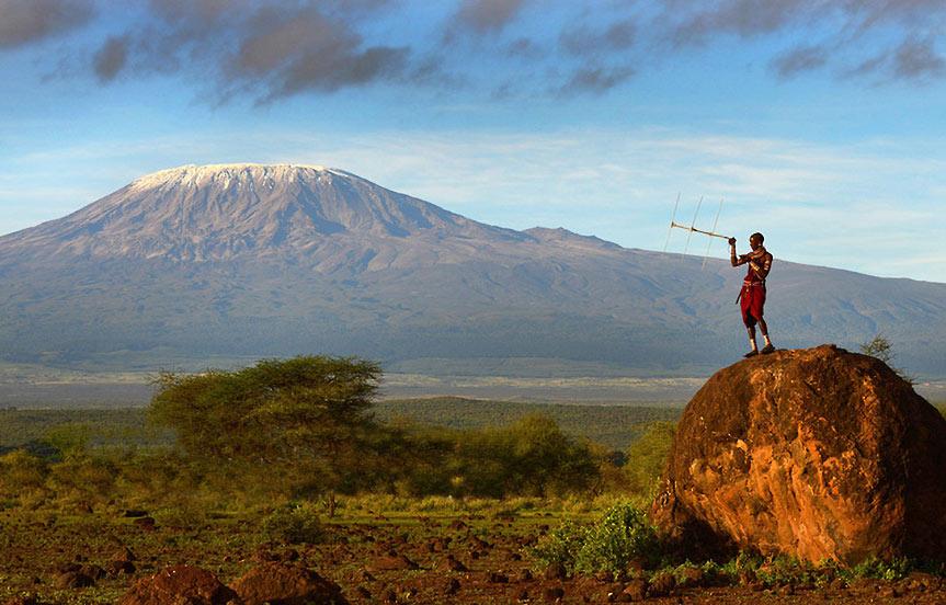 Des Masaï au secours des lions