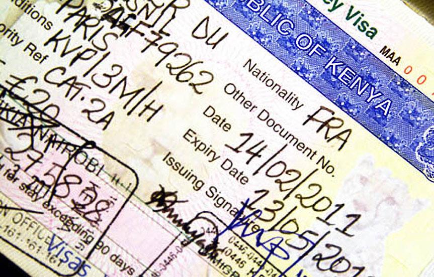 Le Kenya lance le e-visa