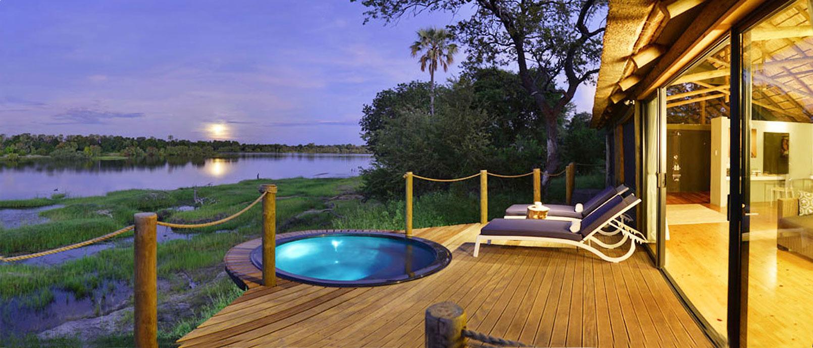 Victoria Falls River lodge L'Afrique au fil de l'eau