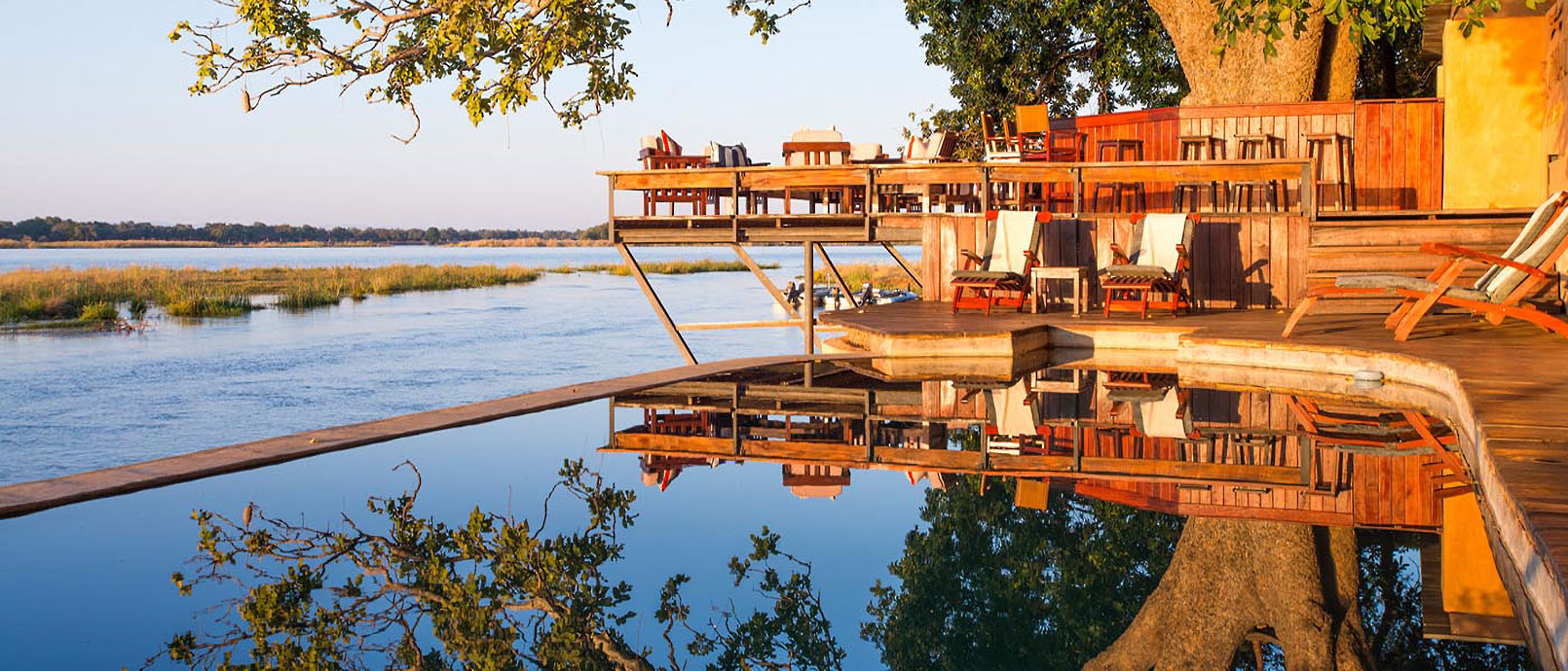 Royal Zambezi Lodge Le Zambèze en majesté