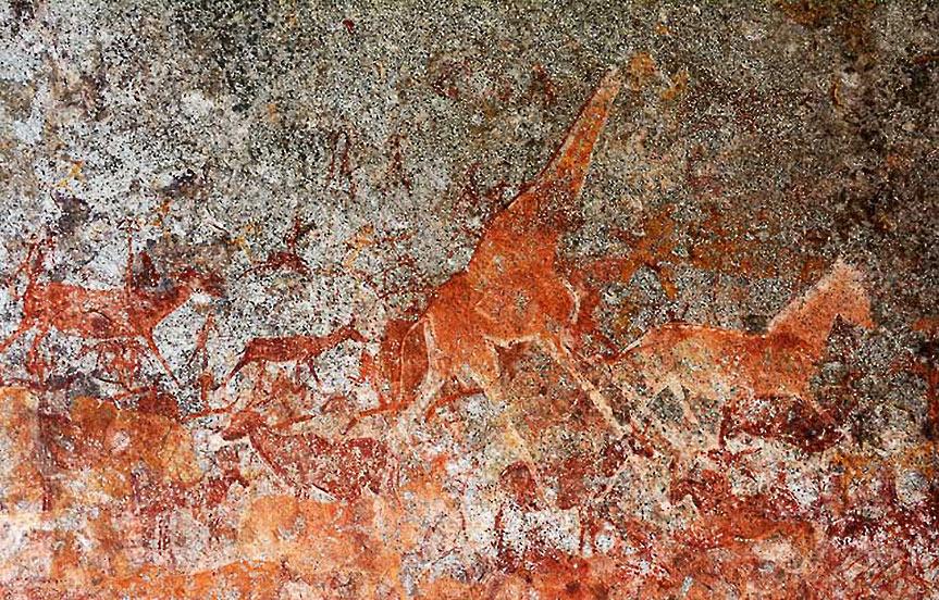Les secrets des peintures des Monts Matopos